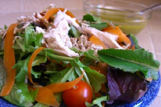 Simple Chicken Breast Salad