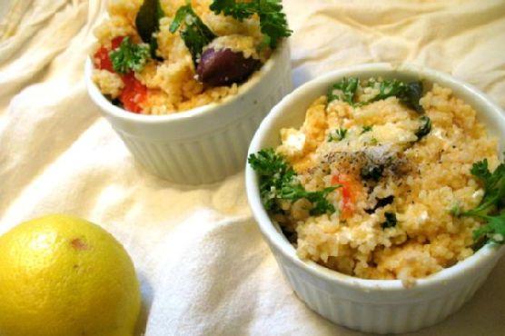 Dragon Salad - Couscous Summer Salad