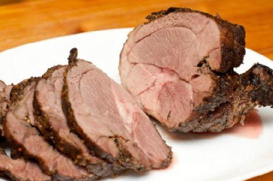 Easy Garlic Roast Leg Of Lamb With Rosemary and Parsley