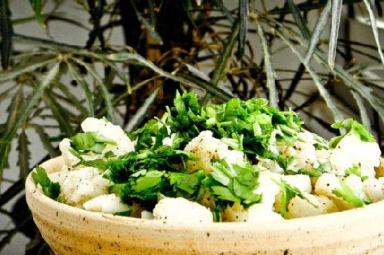 Egyptain Cauliflower Side Salad