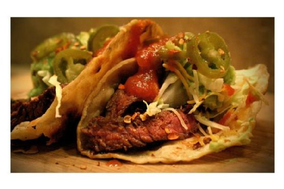 Elk Sirloin Tacos With Pickled Jalapeños