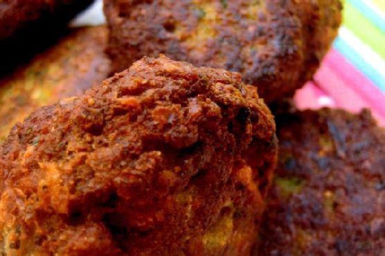 Indian-Inspired Falafel Appetizer