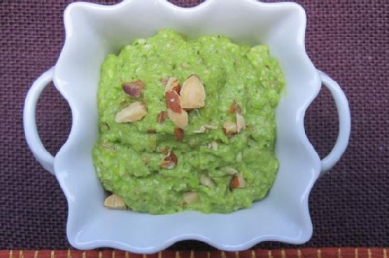 Fava Bean, Almond, and Mint Pesto