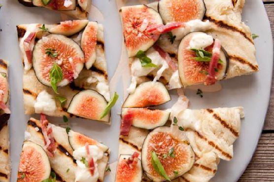 Fig and Mangalitsa Speck Pizza