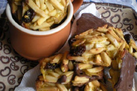 Florentine Cookies With Added Pistachios & Raisins