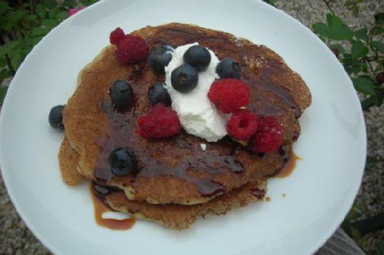 Fourth Of July Sourdough Pancakes