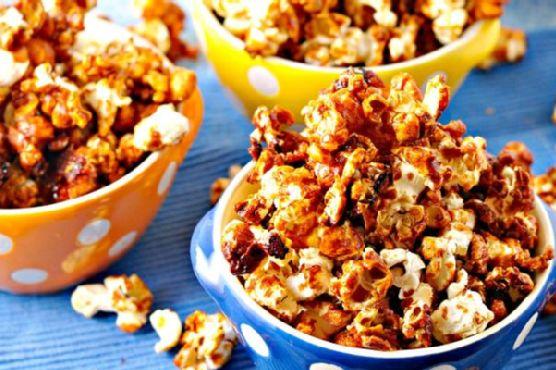 Freaky Hot Wing Popcorn