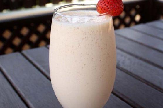 Protein Strawberry Smoothie