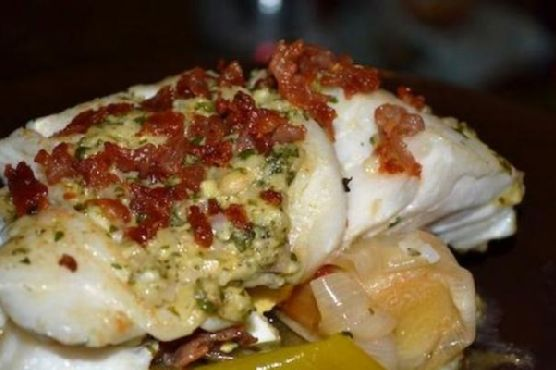 Garlic Butter Roast Cod