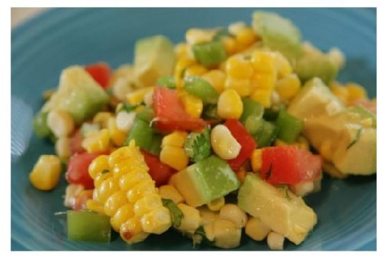 Grilled Corn Side Salad