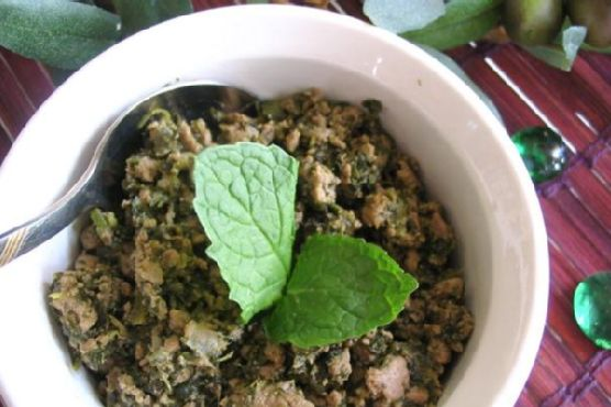 Indian-Spiced Ground Beef Main Dish