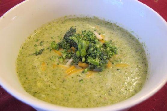 Homemade Broccoli Cheddar Soup