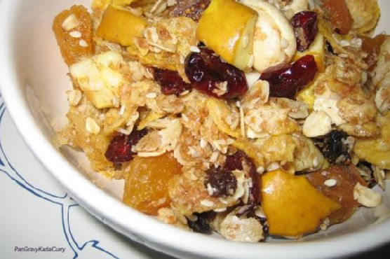 Homemade Muesli Breakfast Cereal
