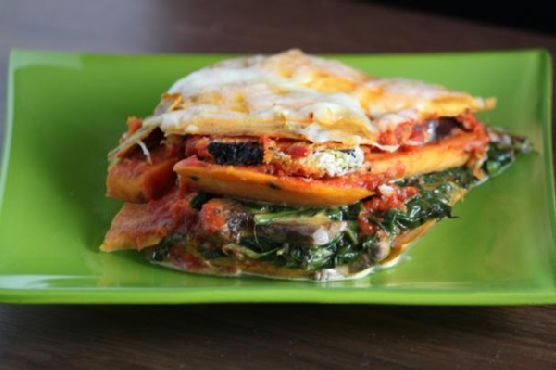 How Sweet It Is Sweet Potato Lasagne