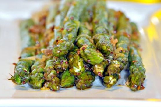 Indian Asparagus with Ginger & Lime