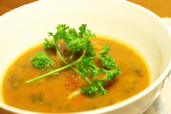 Indian-Inspired Lentil Soup