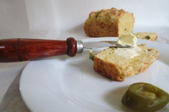 Jalapeno Cheese Quick Bread