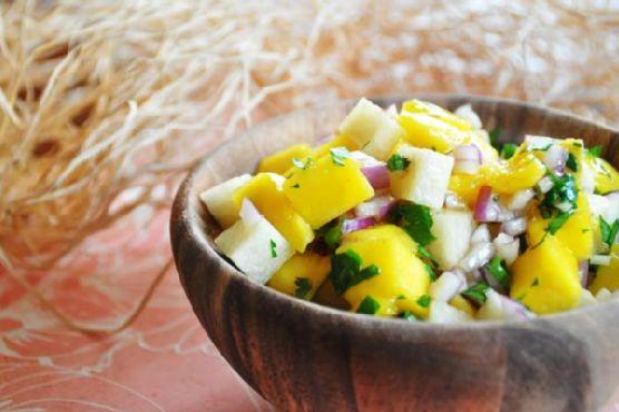 Jicama & Mango Salad