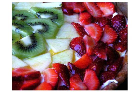 Kiwi Strawberry Tart