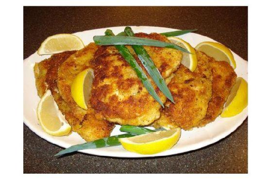 Lemon Chicken Cutlets