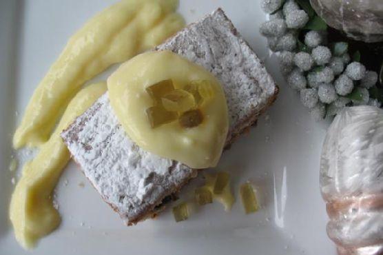 Lemon Curd and Honey Spice Cake