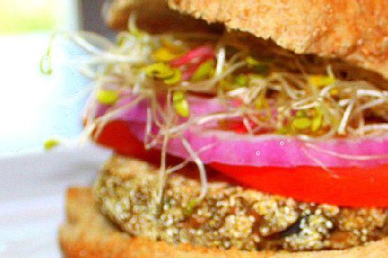 Lentil Veggie Burgers