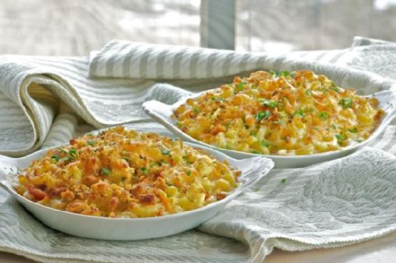 Macaroni and Cheese Gratin