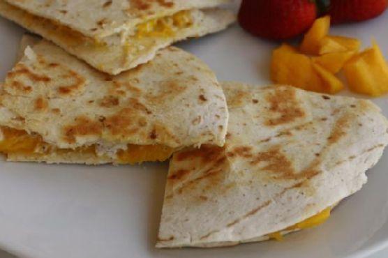 Mango & Goat Cheese Quesadillas