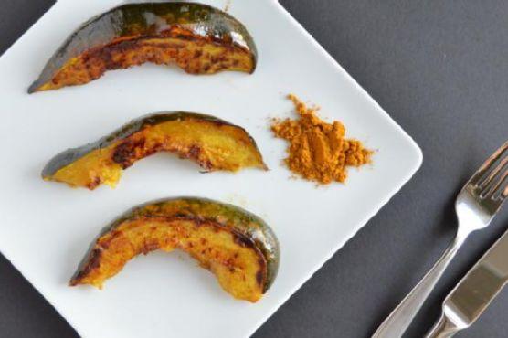 Maple & Curry Acorn Squash