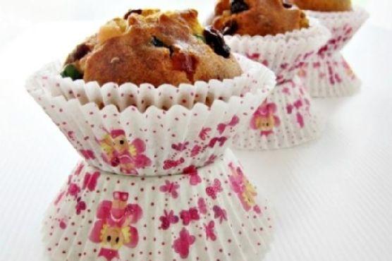 Mini Mixed Fruit Cake