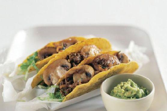 Mushroom and Vegetable Tacos