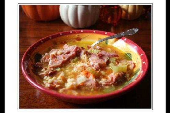 My Favorite Navy Bean Soup