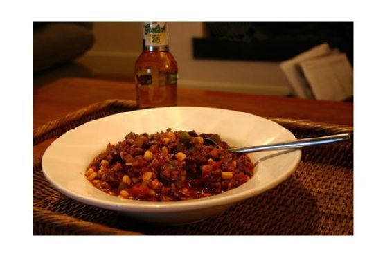 New Mexican Red Bean Chili