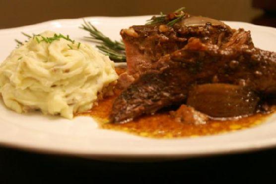 No Fuss Sunday Slow-Cooker Balsamic Pot Roast