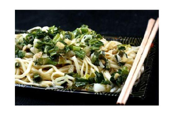 Not Momofuku Ginger Scallion Noodles