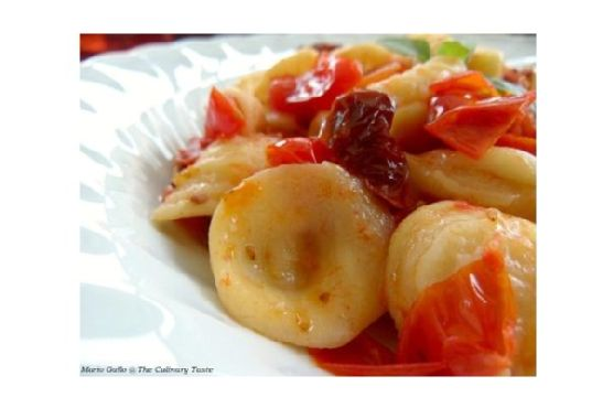 Orecchiette With Sun-Dried and Fresh Cherry Tomatoes