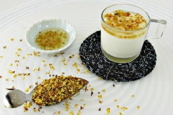 Osmanthus Tea Mousse