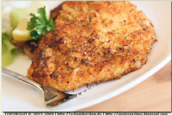 Parmesan Almond Crusted Chicken