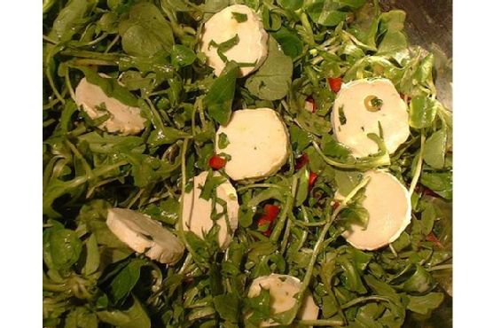 Parsley Salad With Olive Oil Dressing