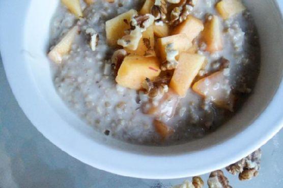 Peaches & Coconut Cream Steel Cut Oatmeal