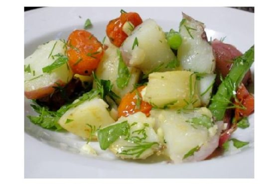 Potato and Green Bean Side Salad