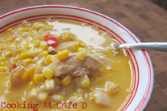 Quick and Easy Southwestern Corn Chowder