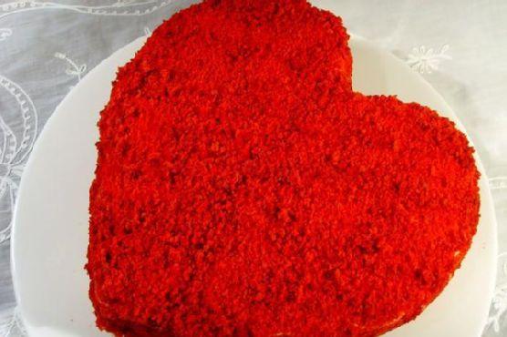 Red Velvet V Cake