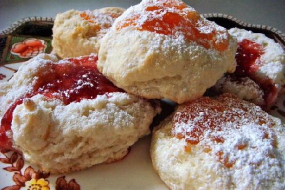 Rich Jelly Scones