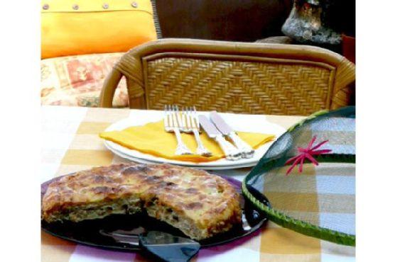 Ricotta and Onion Pie