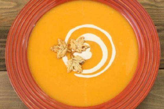 Roasted Butternut Squash Bisque with Frangelico