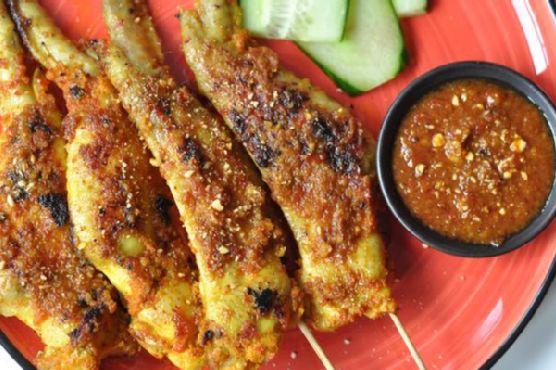 Satay Chicken Wings