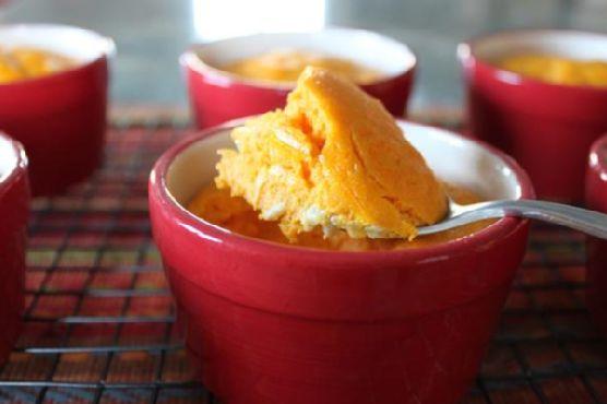 Savory Carrot Souffle