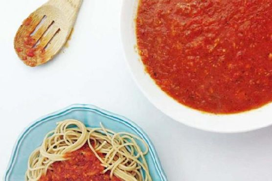 Slow Cooker Fresh Tomato Sauce