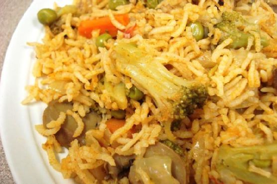 Special Vegetable Biryani